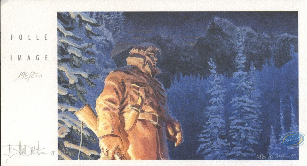Bookplate Offset, Wendigo : Hunter