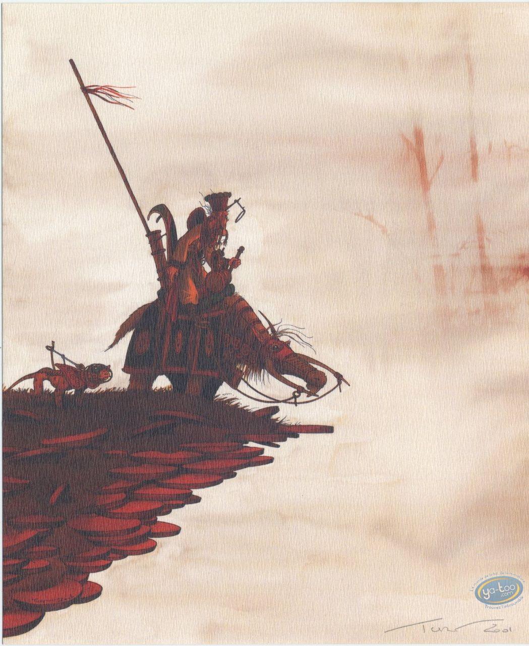 Bookplate Offset, Nef des Fous (La) : On the Brink