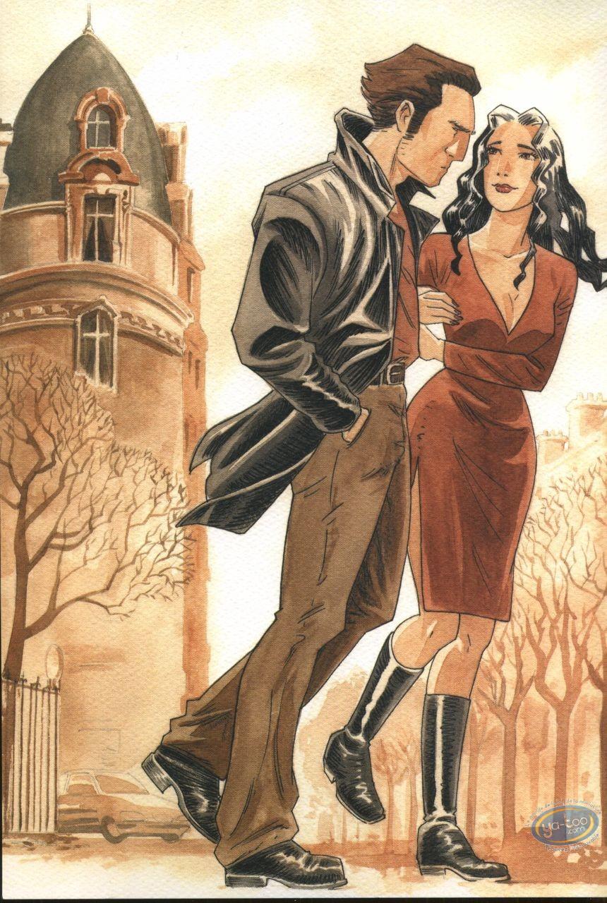Bookplate Offset, Phenomenum : Couple walking