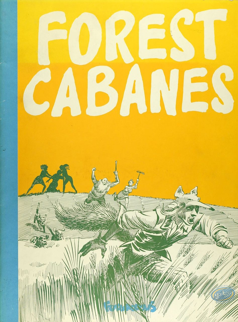 Listed European Comic Books, Roman de Renart (Le) : Cabanes, Le Roman de Renart