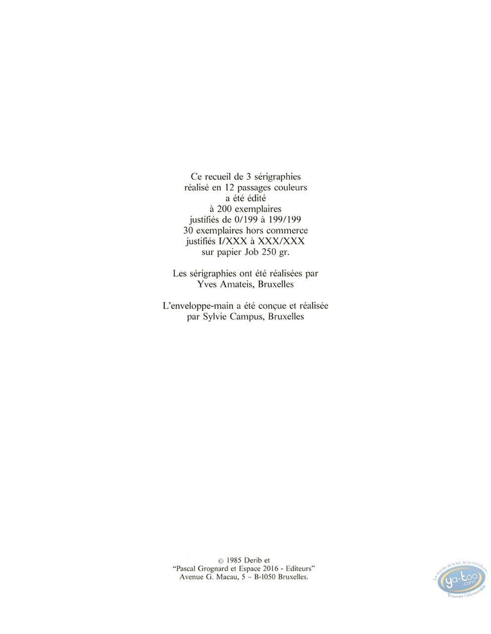 Serigraph Print, Celui qui est Né Deux Fois : Celui qui est ne deux fois