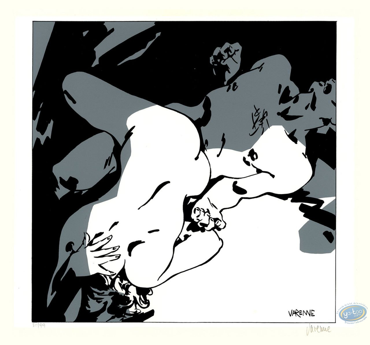 Serigraph Print, Corps à Corps : Body to body 15