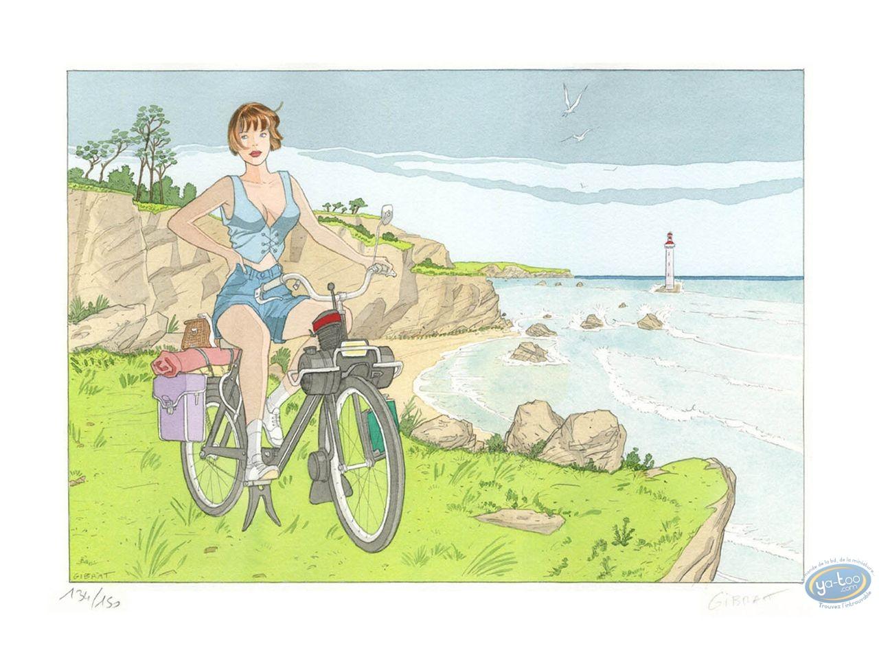 Aquarelle, Gibrat : Martine