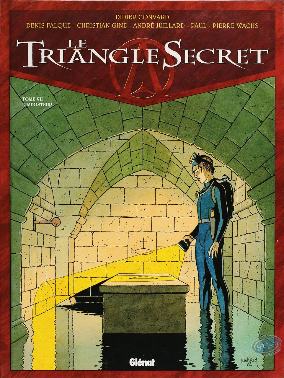 Listed European Comic Books, Triangle Secret (Le) : L'Imposteur