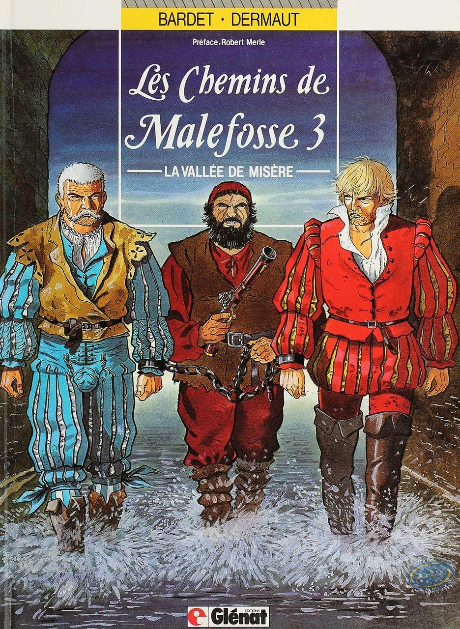 Listed European Comic Books, Chemins de Malefosse (Les) : La vallee de misere (very good condition)