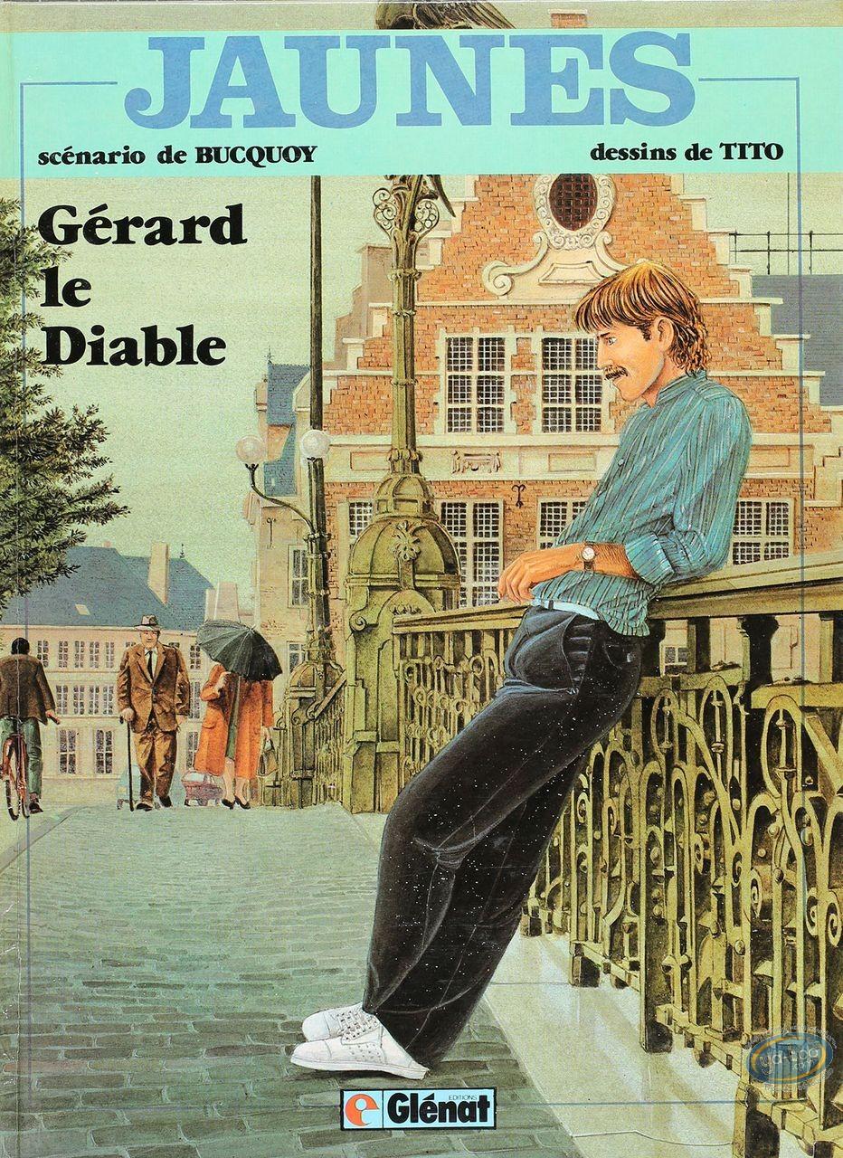 Listed European Comic Books, Jaunes : Gerard le Diable (good condition)