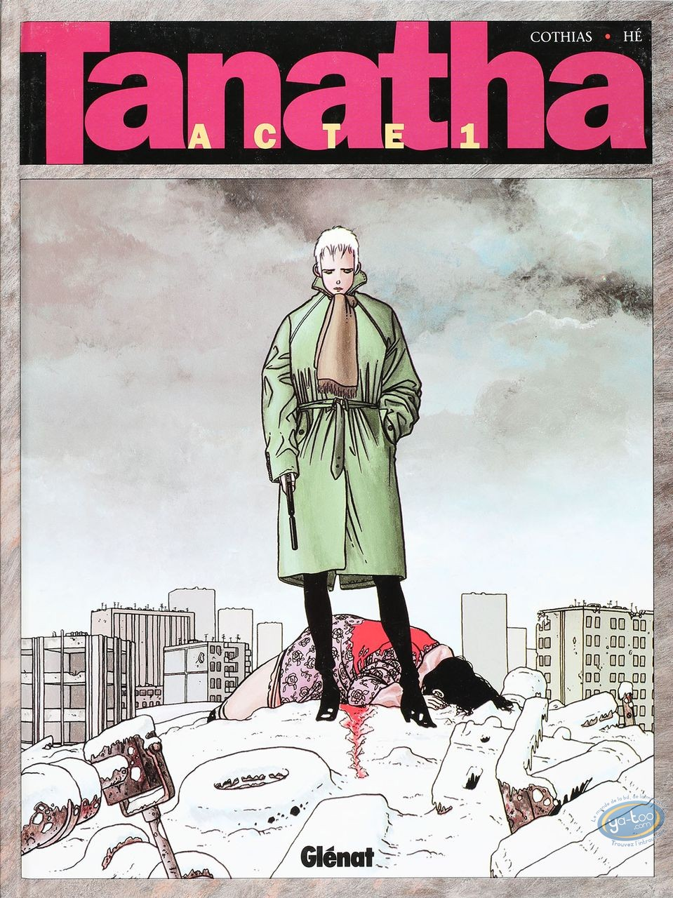 Listed European Comic Books, Tanatha : Acte 1 (good condition)