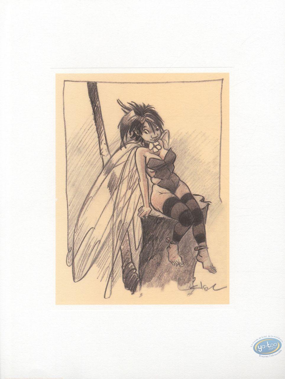 Offset Print, Peter Pan : Tinker Bell 1