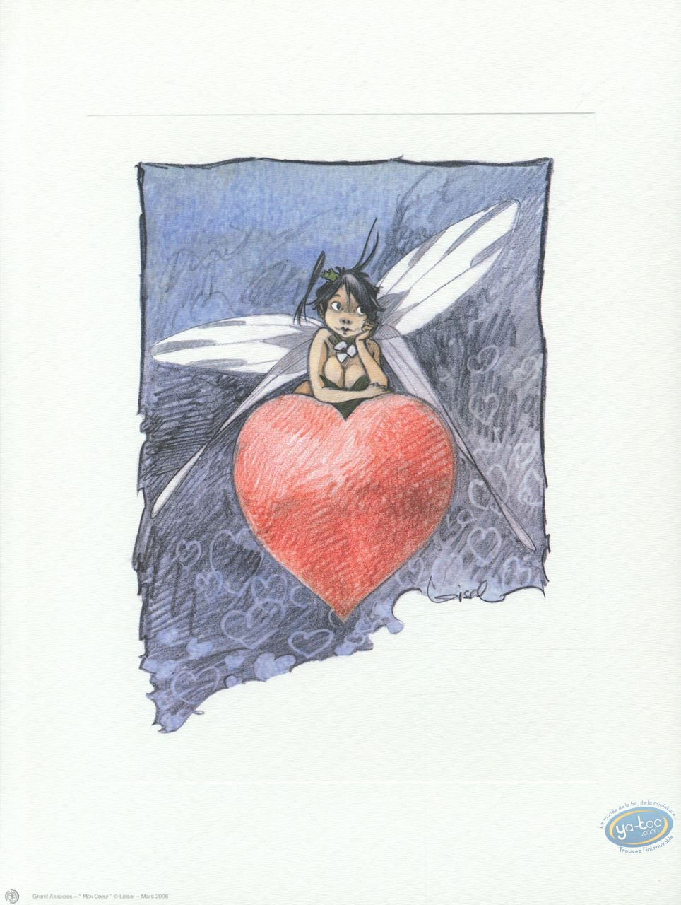 Offset Print, Peter Pan : My Heart