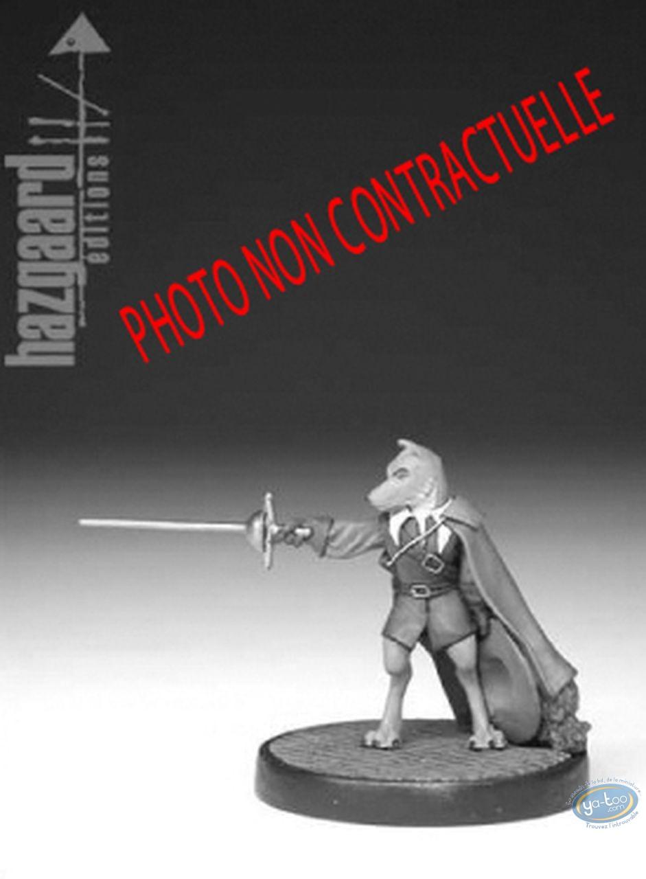 Metal Figurine, Cape et de Crocs (De) : Don Lope (unpainted)
