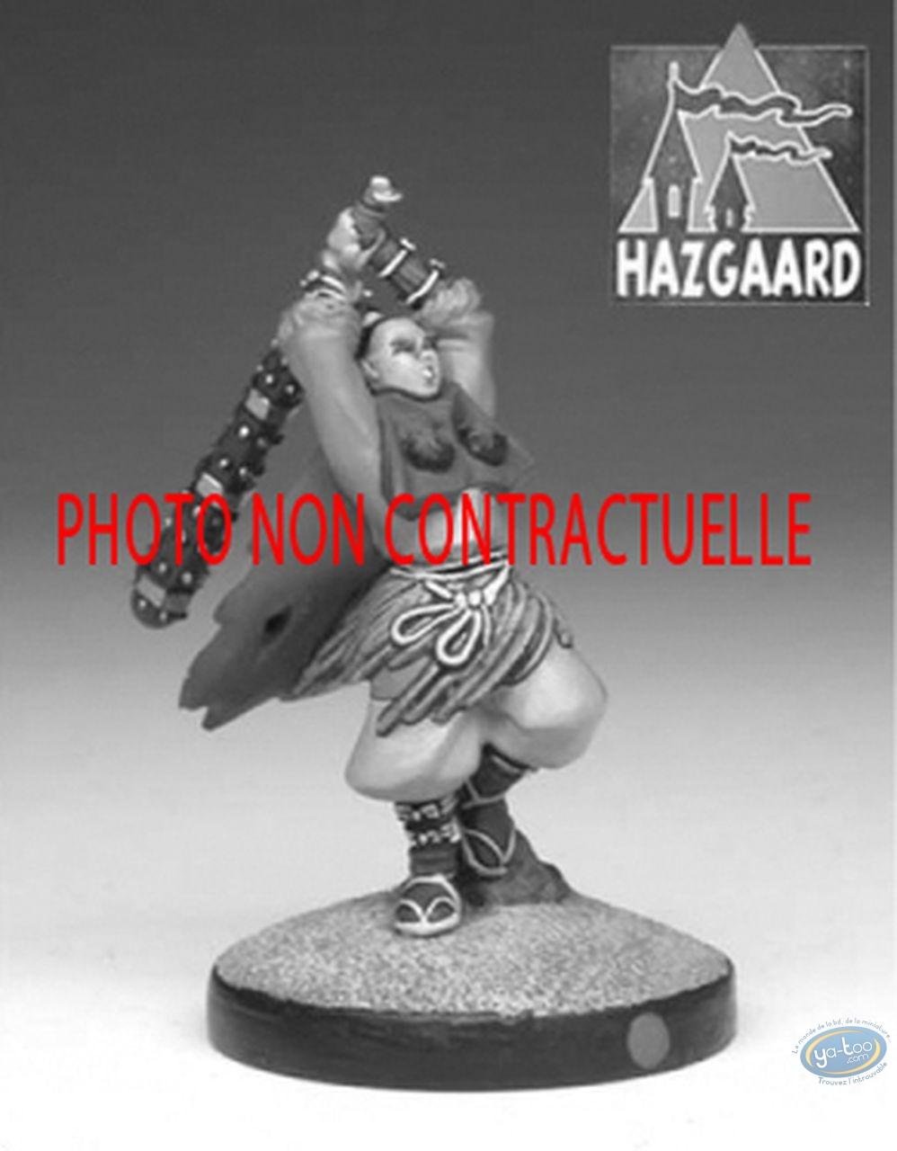 Metal Figurine, Okko : Fauche Le Vent (unpainted)