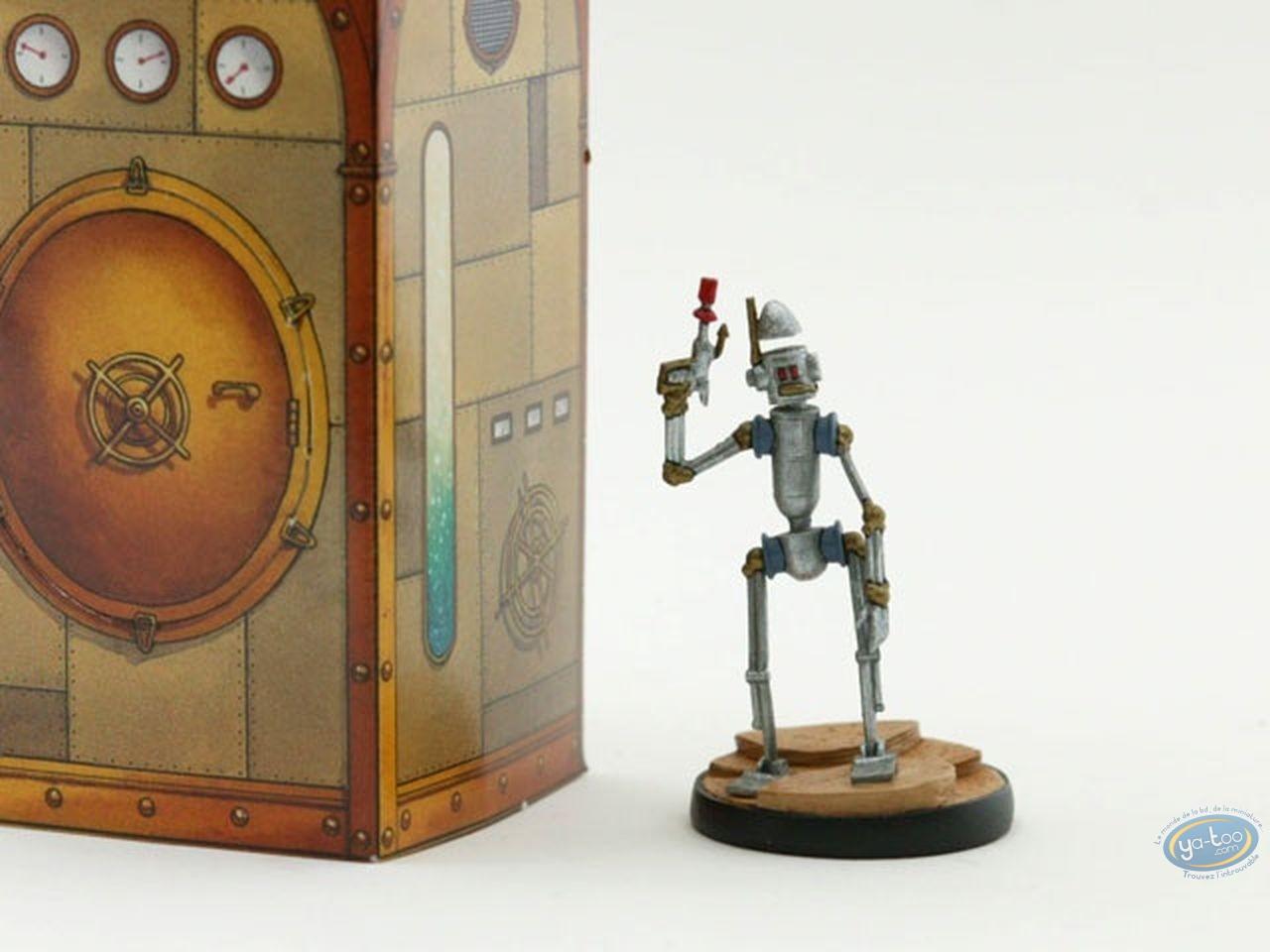 Metal Figurine, Nef des Fous (La) : Robot - Black Horse