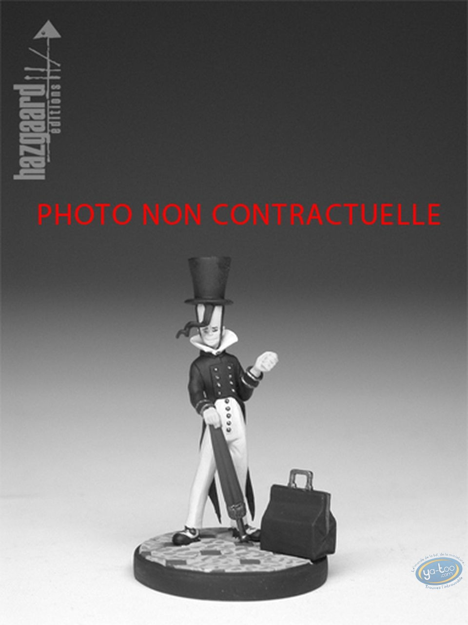 Metal Figurine, Nef des Fous (La) : Prince Putative - Black Tower (unpainted)