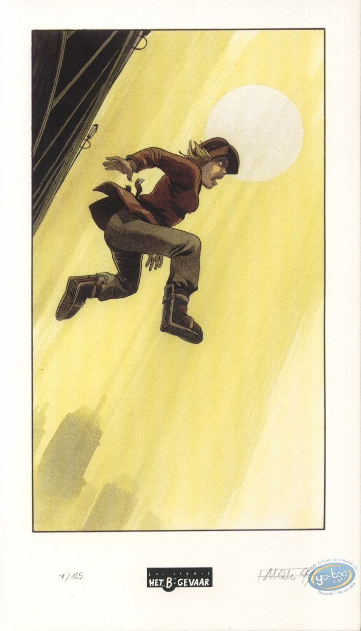 Bookplate Offset, Fond du Monde (Le) : Jump