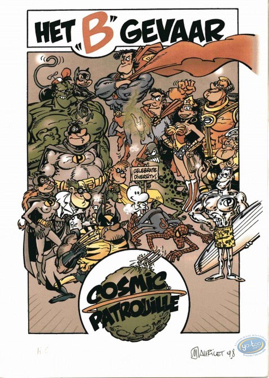Bookplate Offset, Cosmic Patrouille : Cosmic Patrouille