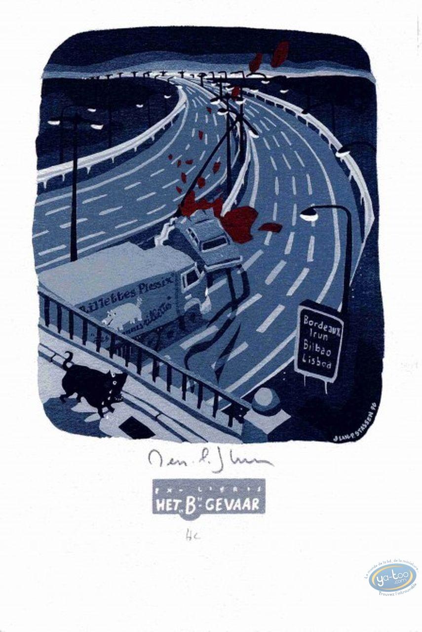 Bookplate Offset, Louis le Portugais : Louis le Portugais (variant)