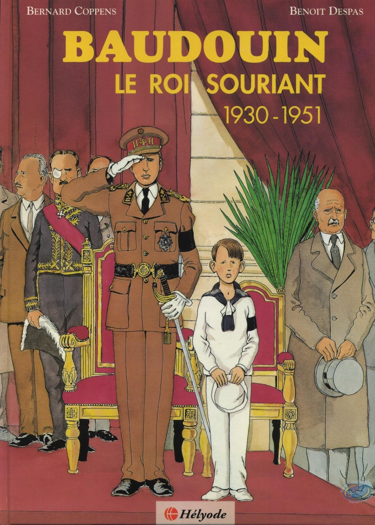 Used European Comic Books, Baudoin : Baudouin, smiling King 1930-1951