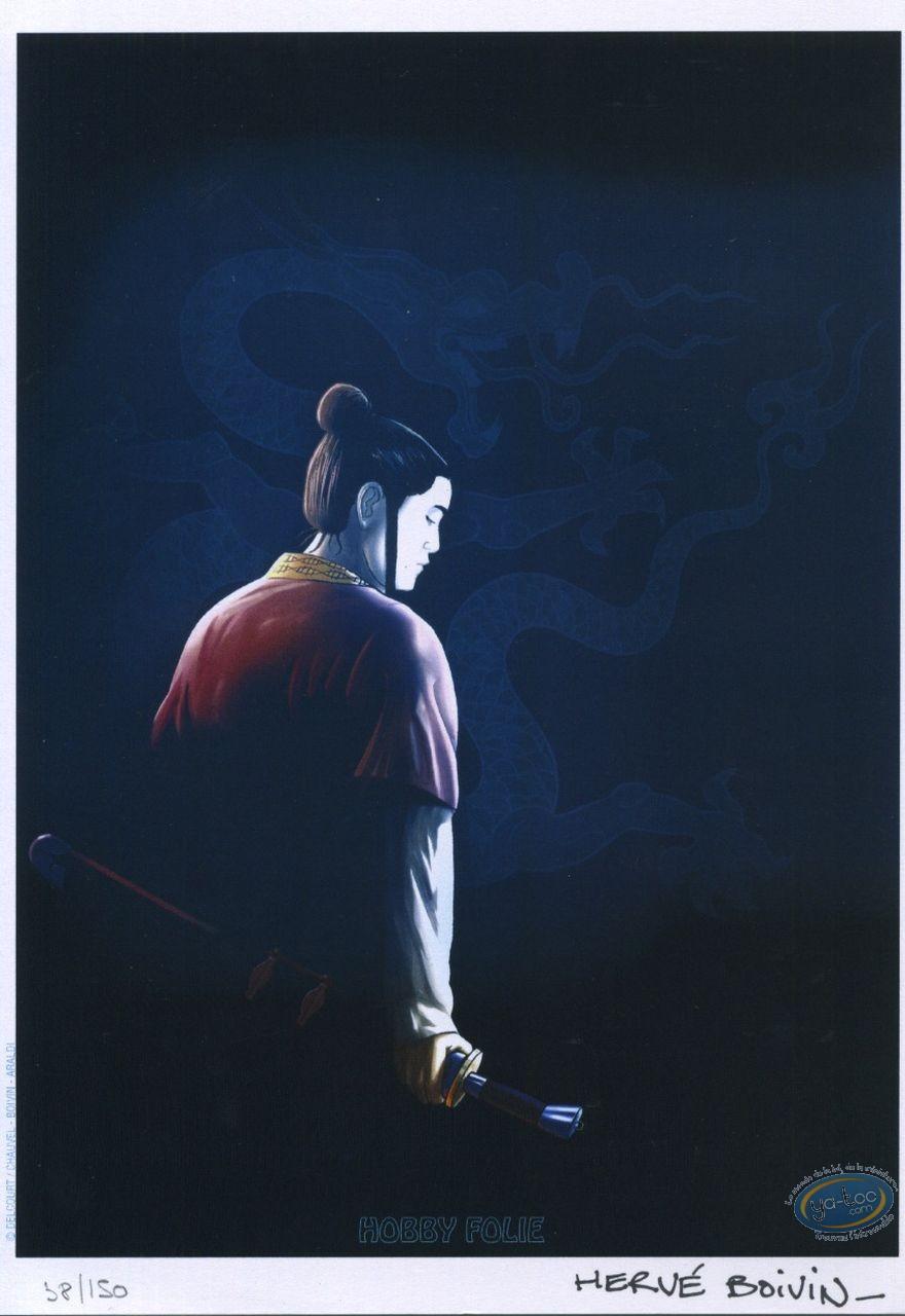 Bookplate Offset, Sabre et l'Epée (Le) : Samouraï