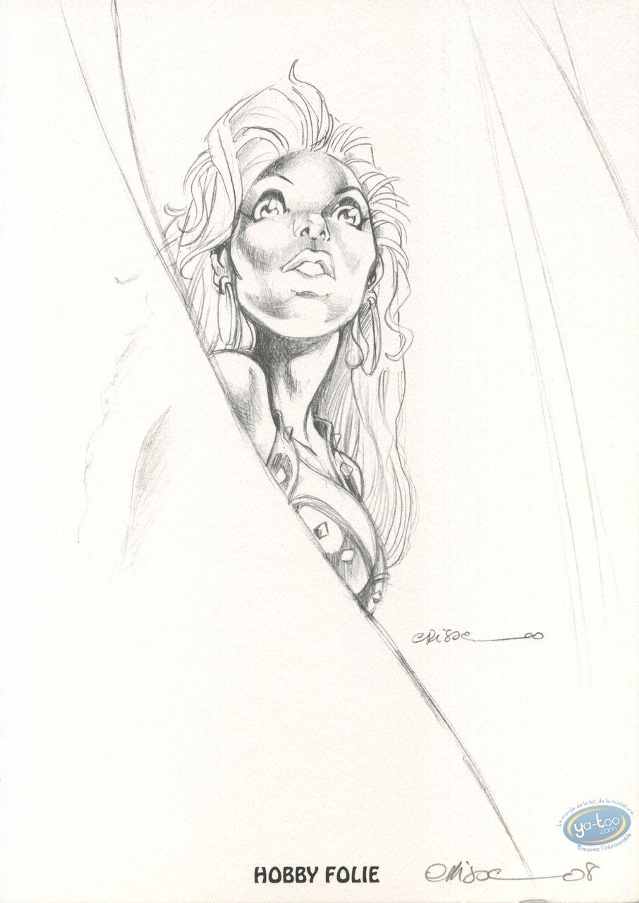 Bookplate Offset, Atalante : Atalante (sketch)