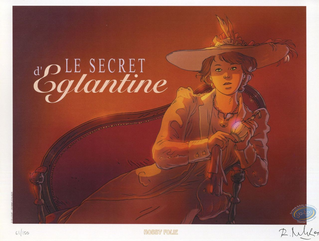 Bookplate Offset, Voyages de Kaël (Les) : Le Secret d'Eglantine