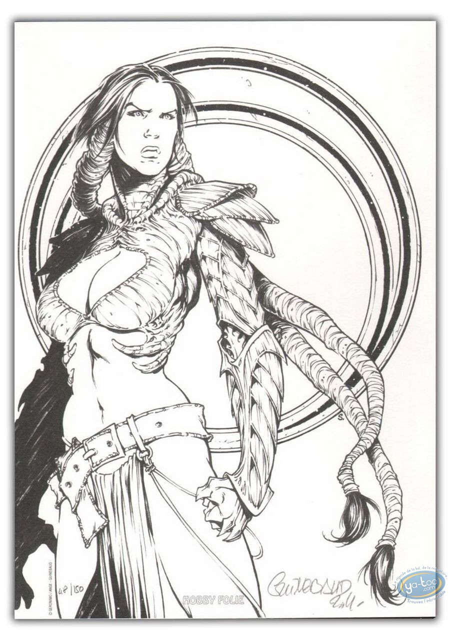 Bookplate Offset, Geste des Chevaliers Dragons (La) : Warrior
