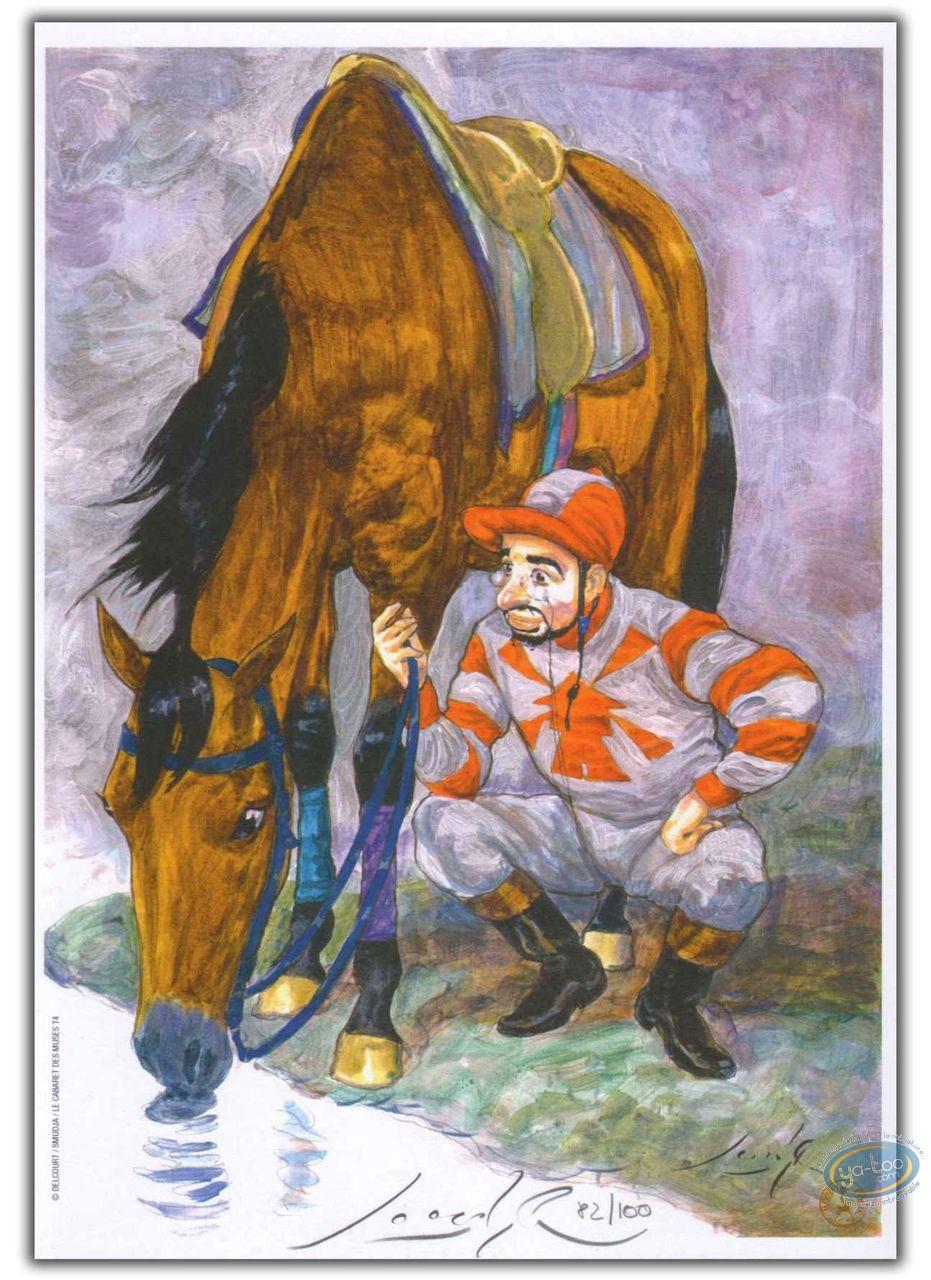 Bookplate Offset, Bordel des Muses (Le) : Jockey