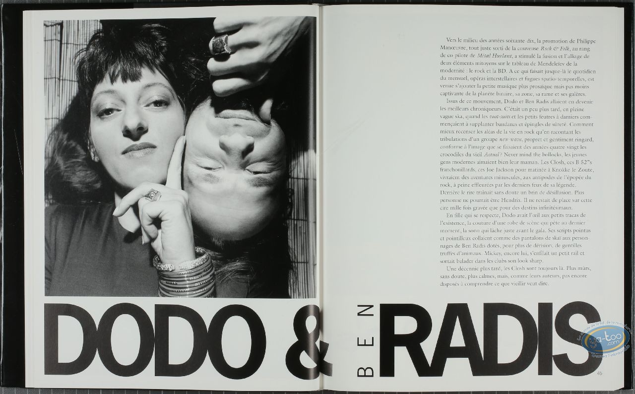 Monography, Figures de la BD : Figures de la BD
