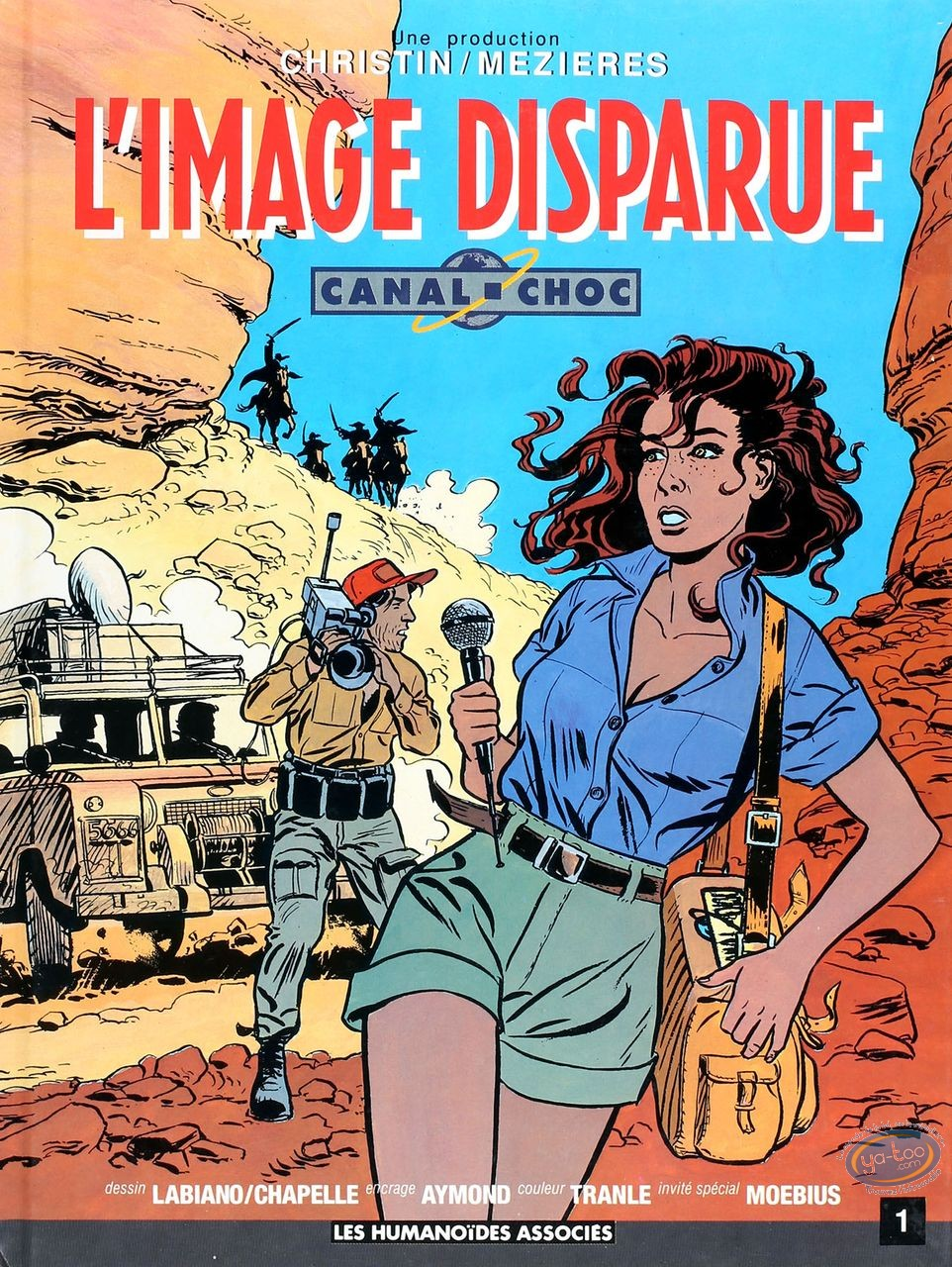 Listed European Comic Books, Canal Choc : L'image disparue
