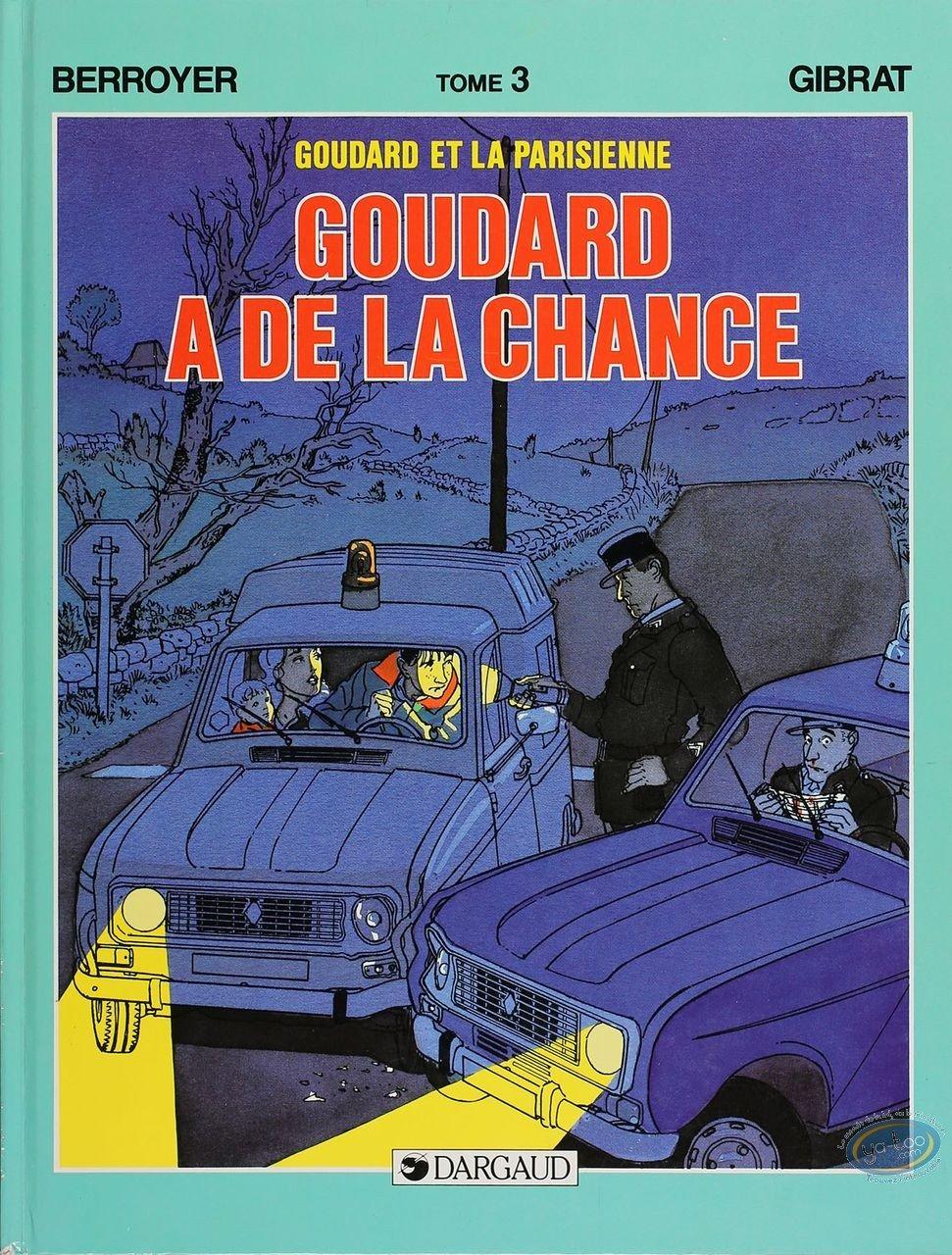 Listed European Comic Books, Goudard : Goudard a de la Chance (very good condition)