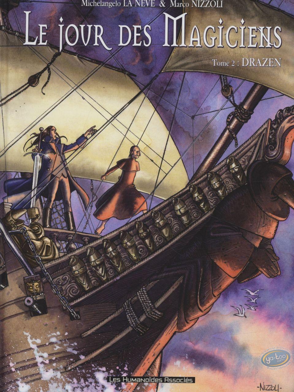 Used European Comic Books, Jour des Magiciens (Le) : Tome 2 - Drazen