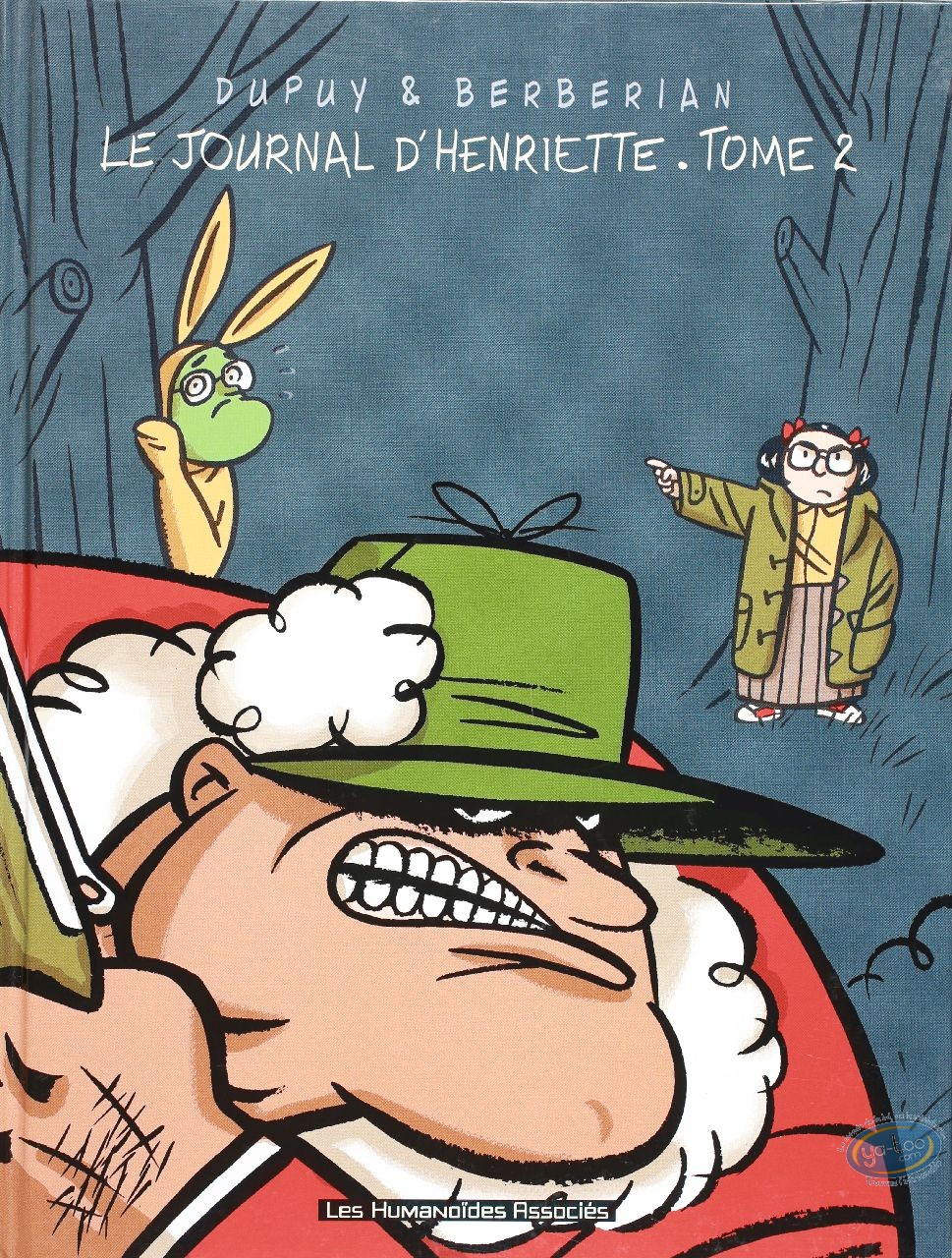 Used European Comic Books, Journal d'Henriette (Le) : Le journal d'Henriette