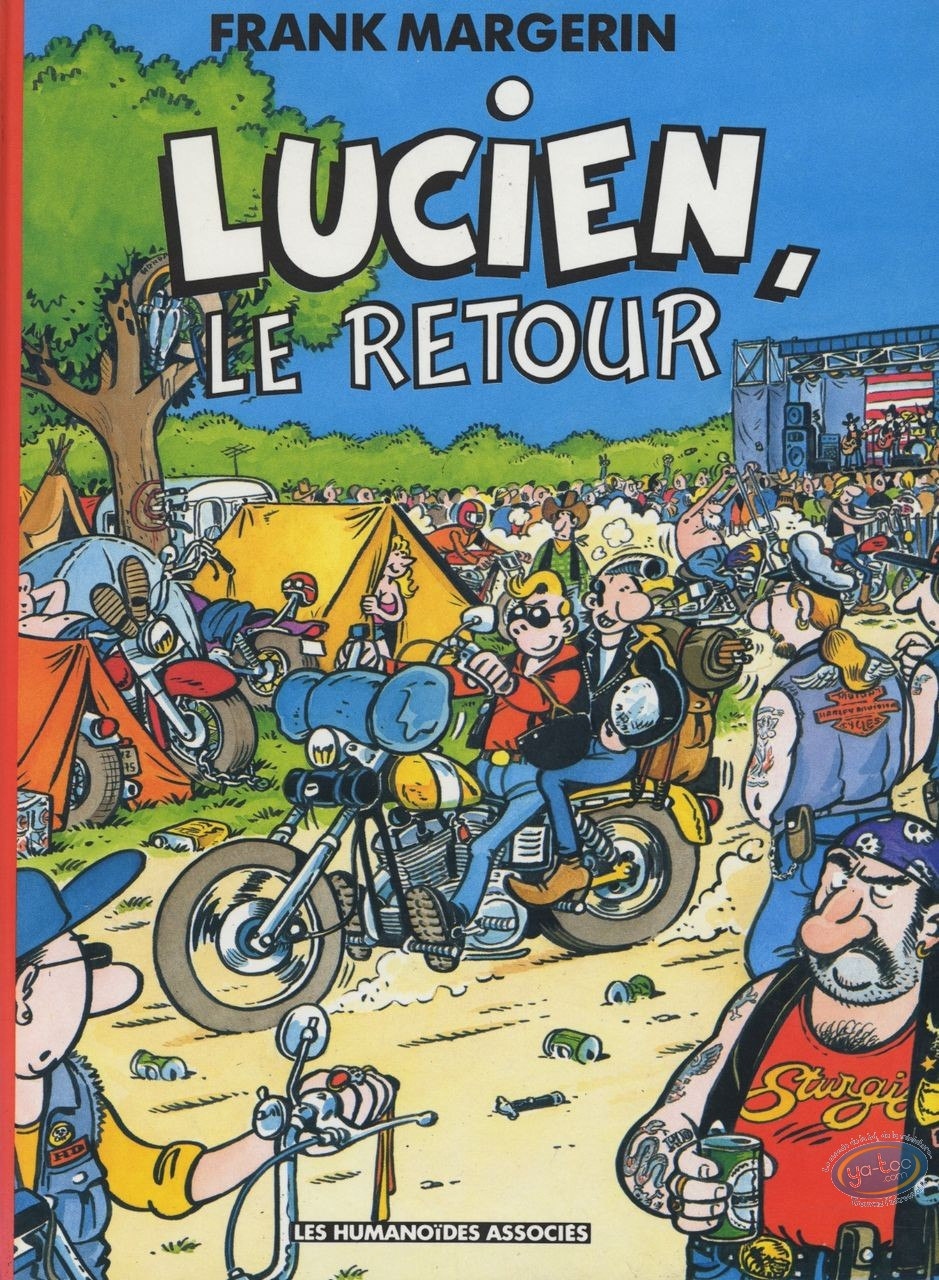 Used European Comic Books, Lucien : Le retour (occasion)