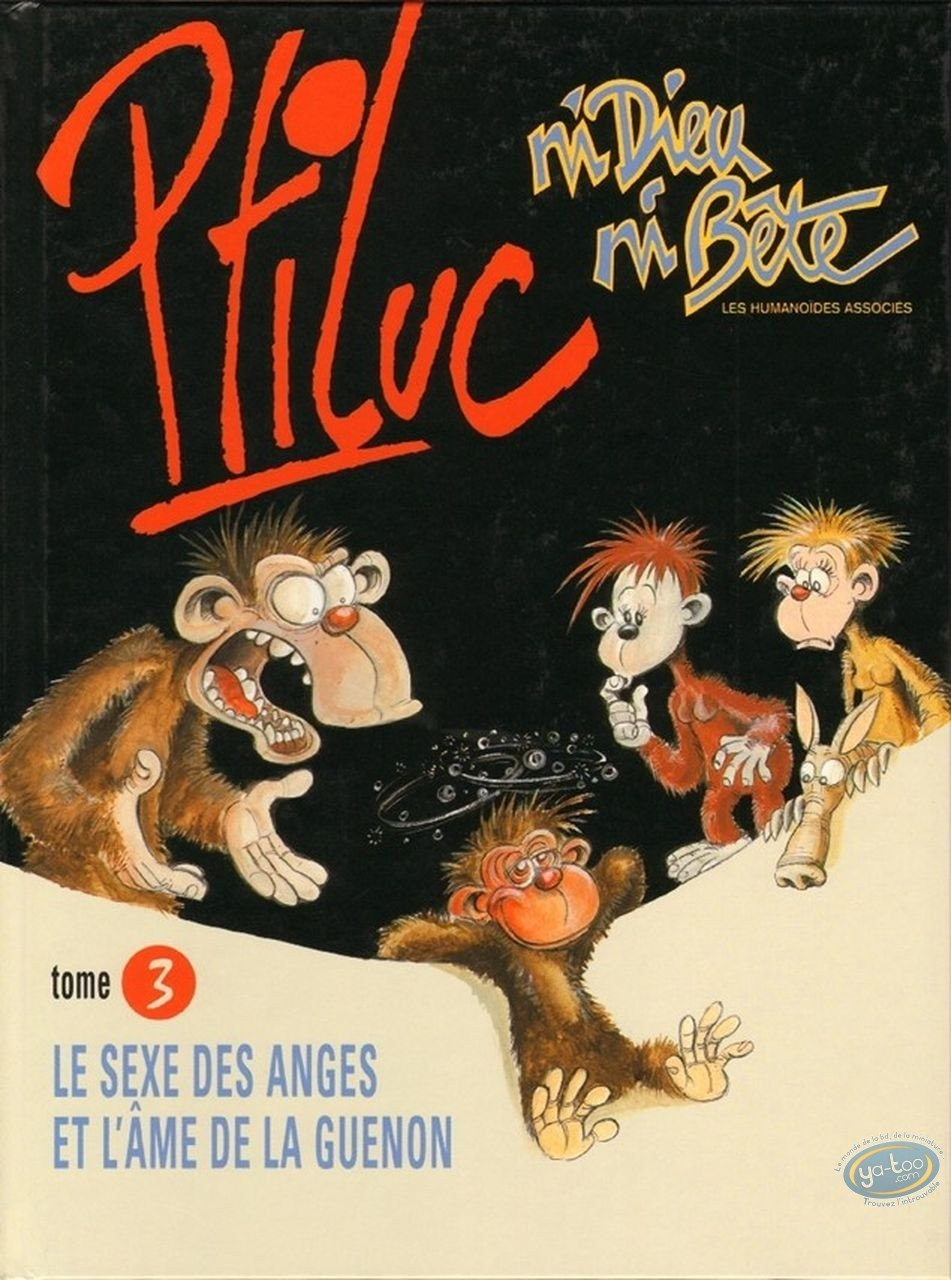 Reduced price European comic books, Ni Dieu ni Bête : Neither God, Nor Animal volume 3 - The sex of the Angels and the soul of Female monkey