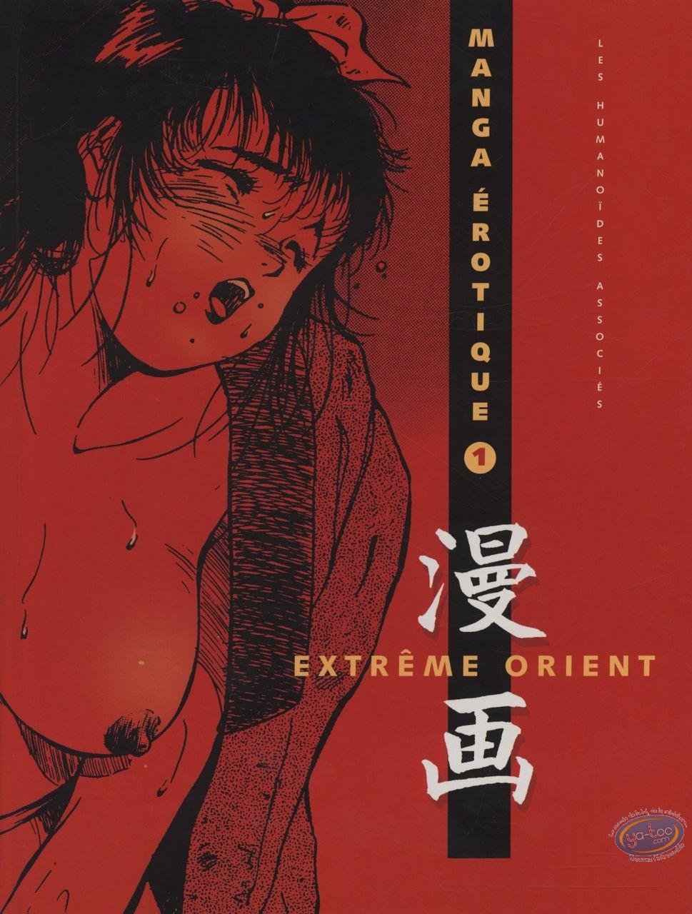 Adult European Comic Books, Manga érotique