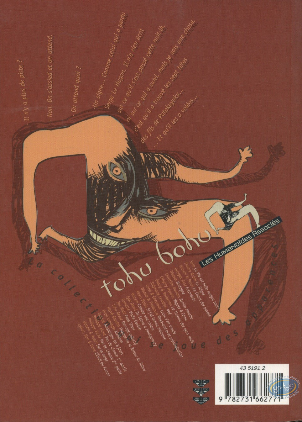 Reduced price European comic books, Tohu Bohu : Bad luck 2nd part - Tohu Bohu Collection