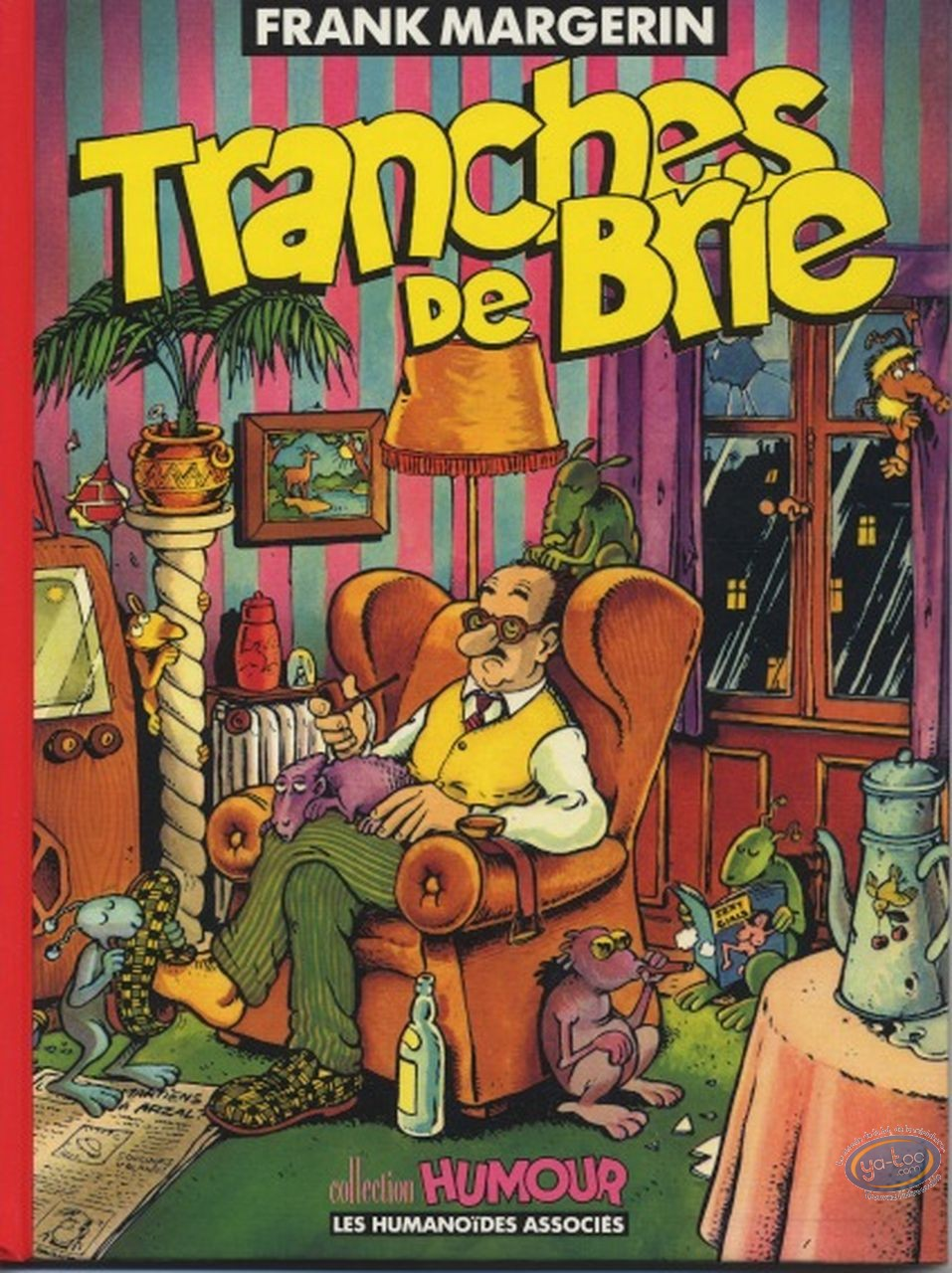 Used European Comic Books, Lucien : Tranches de brie (used)