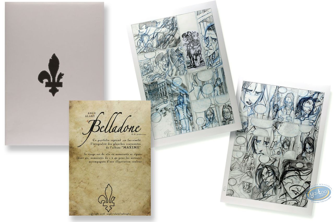 Portfolio, Belladone : Maxime (incomplete)