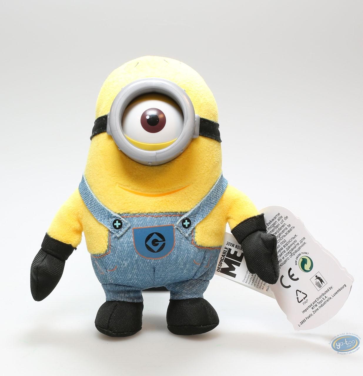 Plush, Minions (Les) : Plush Minion Carl