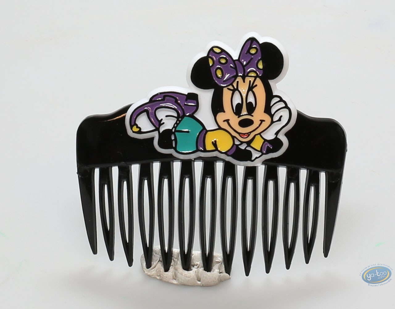 Fashion and beauty, Mickey Mouse : Black comb Minnie lying, Disney