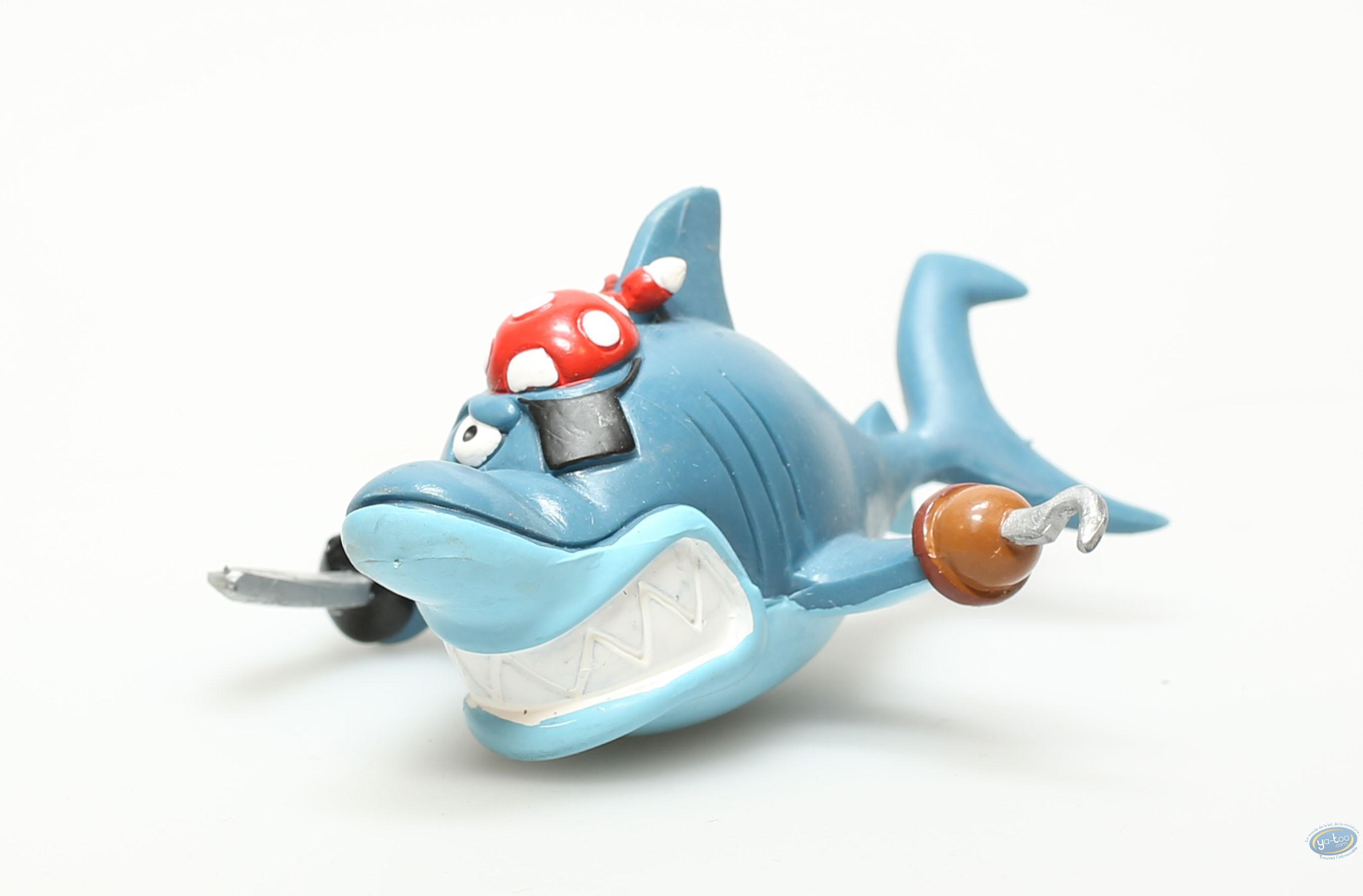 Plastic Figurine, Delfy le Requin : Plastic figure, Delfy the Shark : Delfy with sword