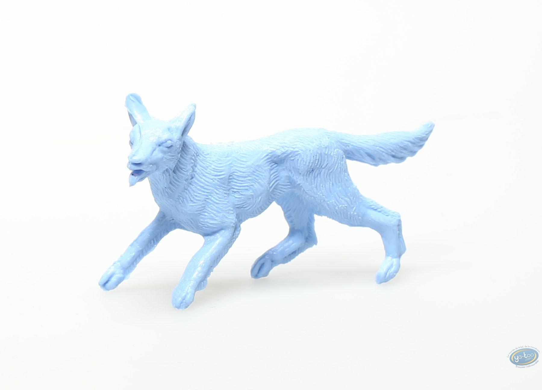 Plastic Figurine, Rintintin : Plastic figure : Blue dog
