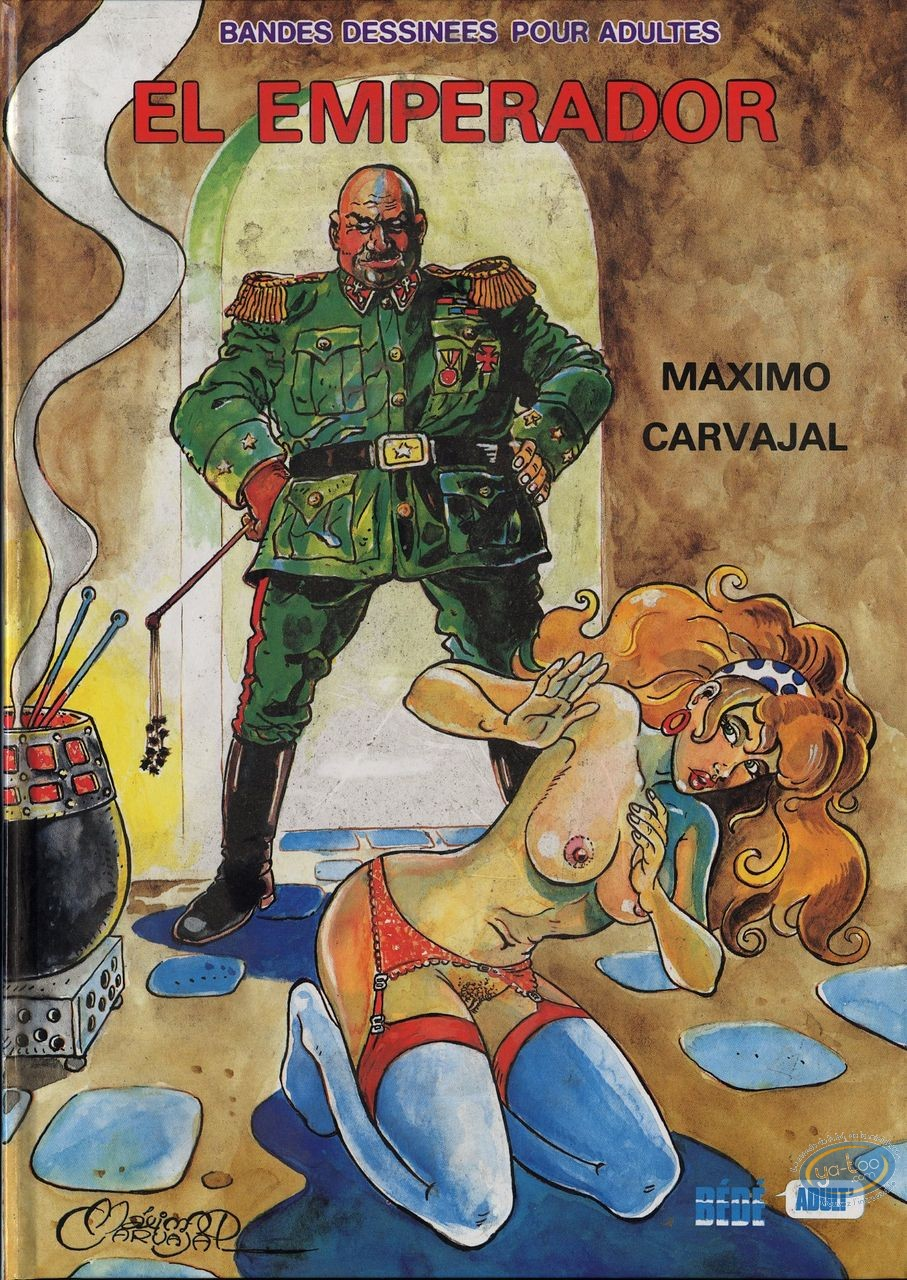 Adult European Comic Books, El Emperador : El emperador