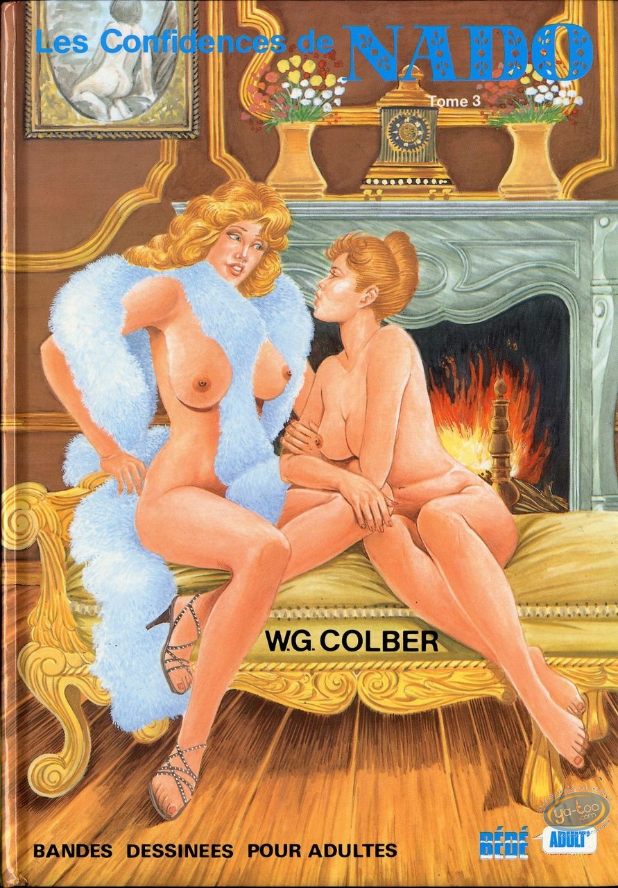 Adult European Comic Books, Nado : Les Confidences de Nado