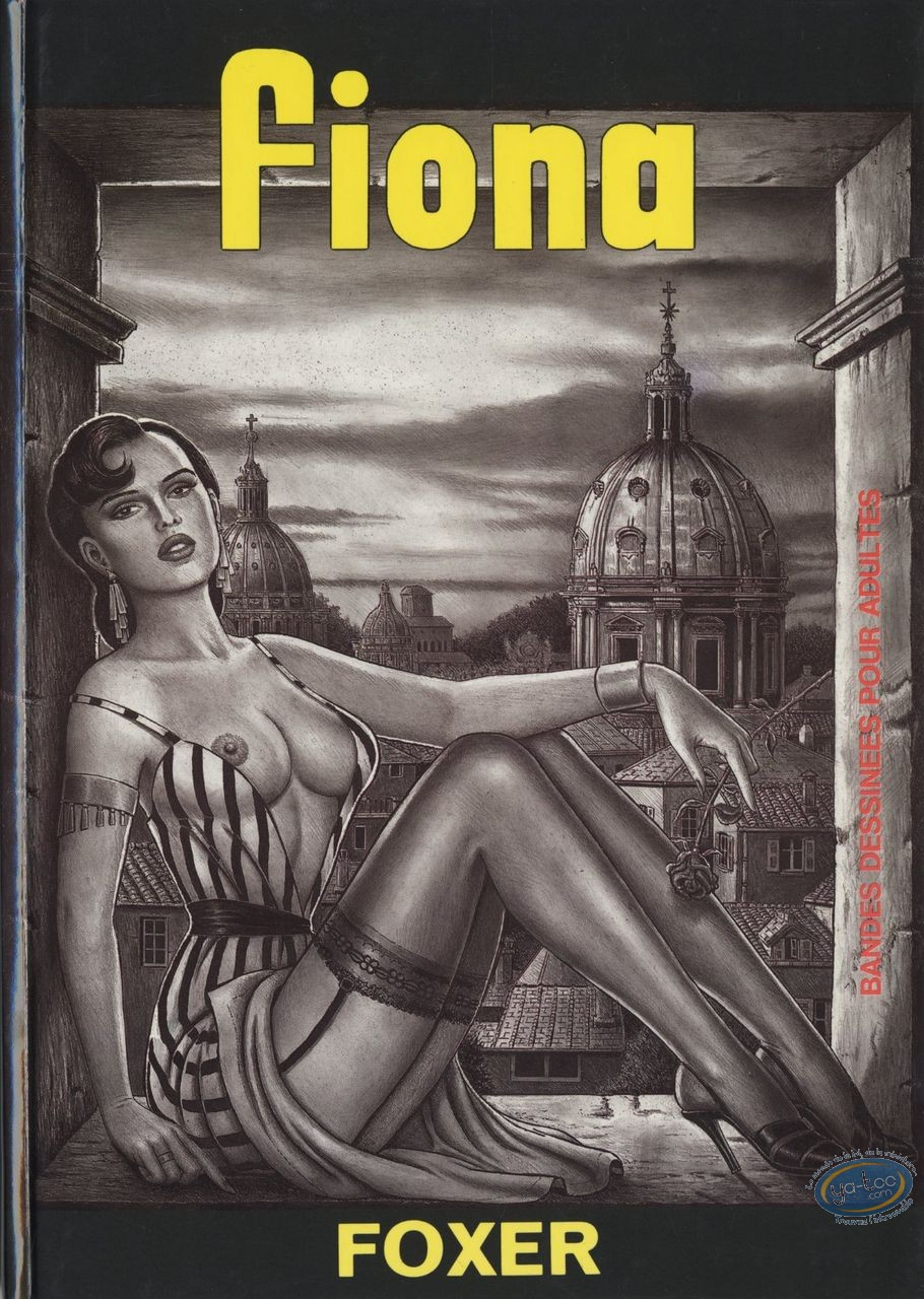 Adult European Comic Books, Fiona