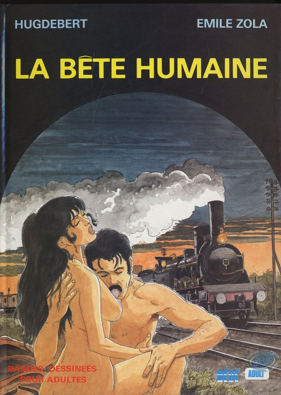 Adult European Comic Books, La bête humaine