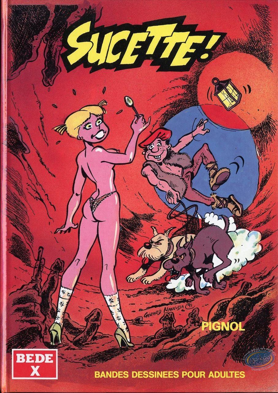 Adult European Comic Books, Sucette