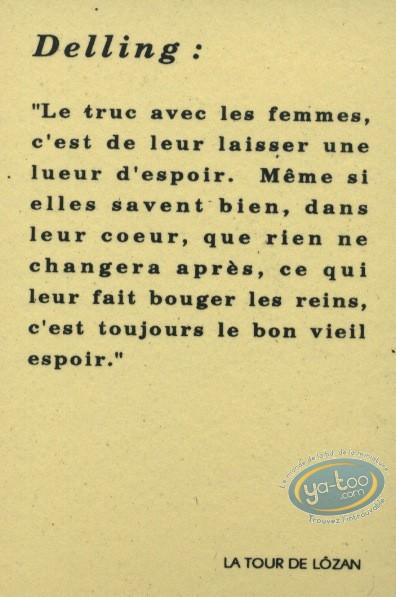 Bookplate Serigraph, Etoile du Désert (L') : Delling