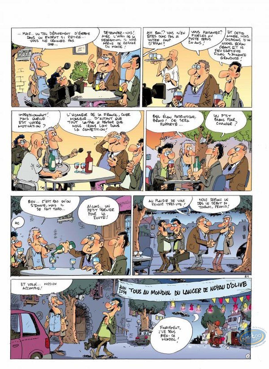 European Comic Books, Bleus (Les) : V1 - Destination Brésil