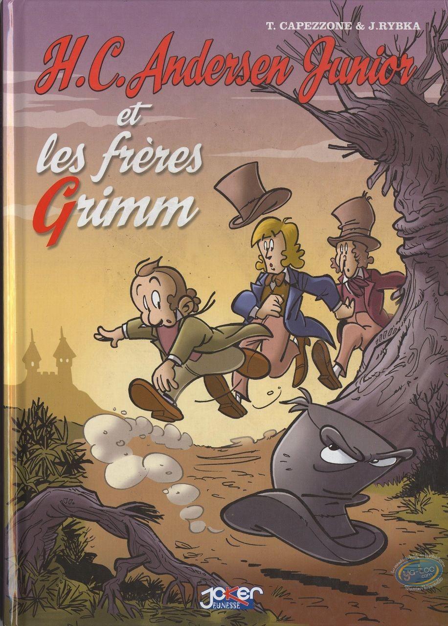 Reduced price European comic books, H.C. Andersen junior : H.C. Andersen junior et les freres Grimm