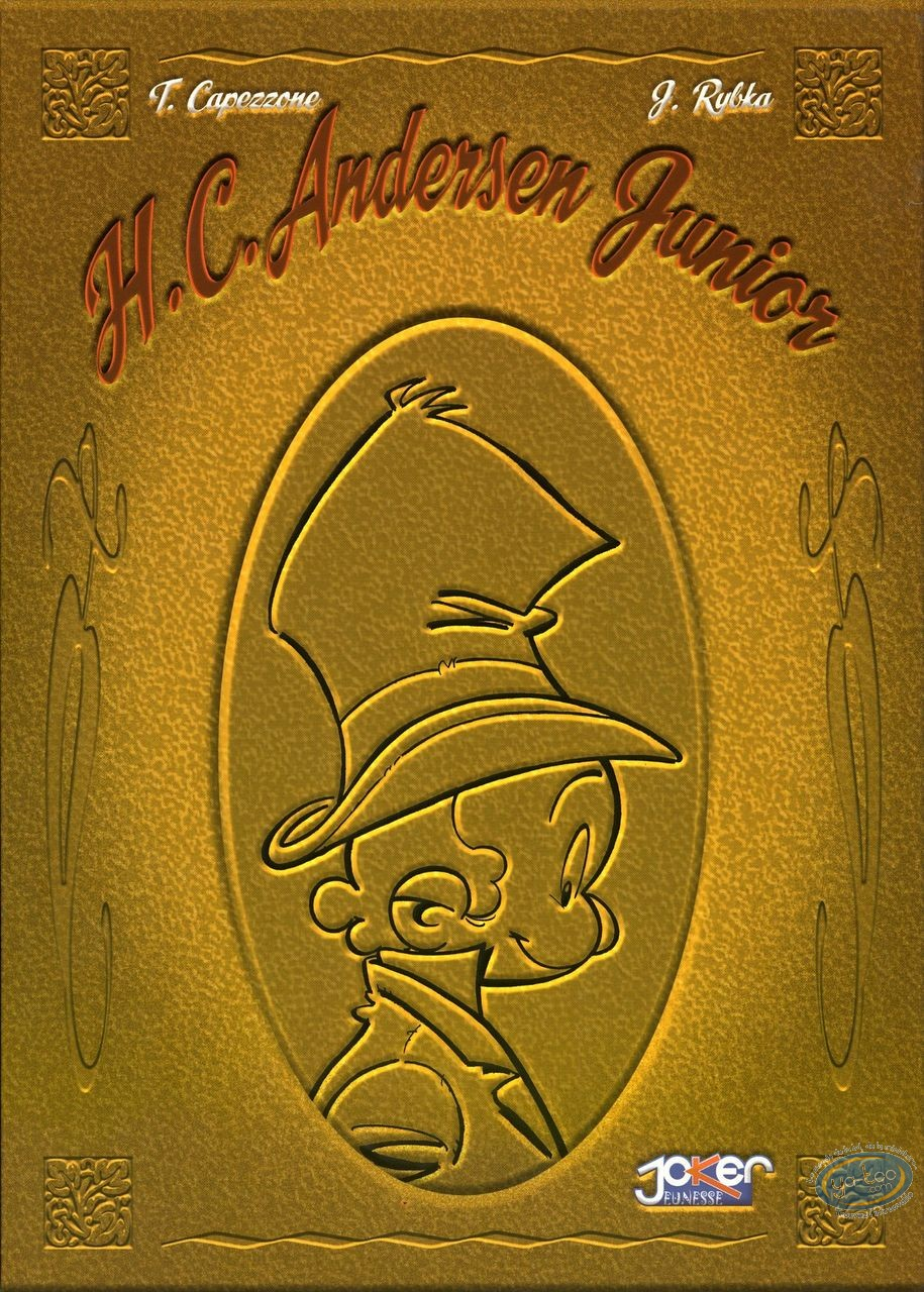 Reduced price European comic books, H.C. Andersen junior : H.C. Andersen Coffret